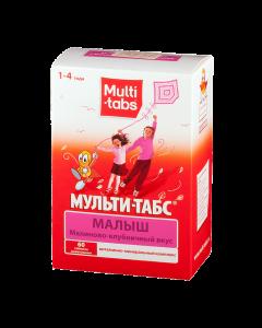 Buy cheap Multivitamins | Multi-Tabs Kid tablets chewing raspberries-strawberries 60 pcs. online www.buy-pharm.com
