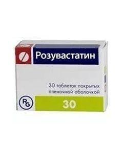 Buy cheap Rosuvastatin | rosuvastatin tablets coated. 40 mg 30 pcs. pack online www.buy-pharm.com