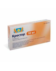 Buy cheap rosuvastatin | Krestor tablets are covered. 10 mg 28 pcs. online www.buy-pharm.com