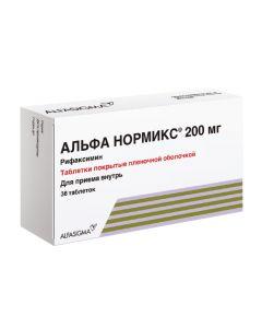 Buy cheap Ryfaksymyn   Alpha Normix tablets coated. 200 mg 36 pcs. online www.buy-pharm.com