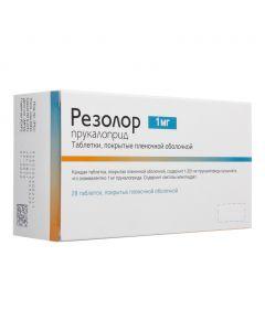 Buy cheap Prukalopryd   Resolor 1 mg tablet, 28. online www.buy-pharm.com