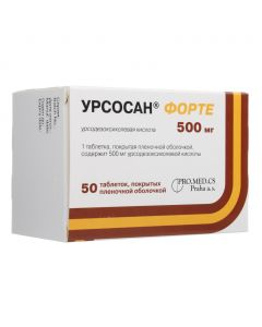 Buy cheap ursodeoxycholic acid | Ursosan Forte tablets coated. captivity. about. 500 mg 50 pcs. online www.buy-pharm.com