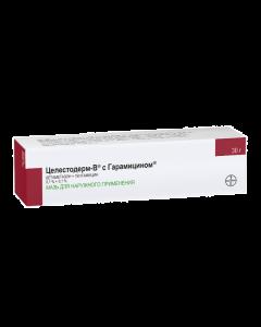 Buy cheap Betamethasone, Gentamicin   Celestoderm B with Garamycin Ointment 0.1%, 30 g online www.buy-pharm.com