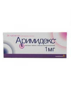 Buy cheap anastrozole   Arimidex tablets 1 mg, 28 pcs. online www.buy-pharm.com