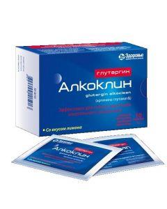 Buy cheap arginine glutamate | Glutargin alkocline with lemon flavor 1g sachets 10 pcs. online www.buy-pharm.com
