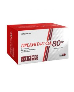Buy cheap Trimetazidine | Preductal OD capsules with prolonged release. 80 mg 60 pcs. online www.buy-pharm.com