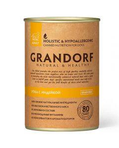 Grandorf (Grandorf) canned food for dogs Duck and Turkey (DUCK & TURKEY) 400g - cheap price - buy-pharm.com