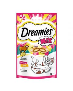Dreamies tasty pillows for cats with beef and cheese 60g - cheap price - buy-pharm.com
