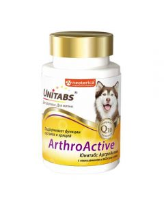 Unitabs ArtroActive for dogs (100 tablets) 150g - cheap price - buy-pharm.com