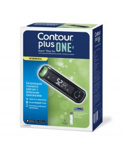 Buy 'Contour PLUS ONE' blood glucose meter  | Online Pharmacy | https://buy-pharm.com