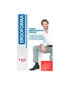 Buy Ergoforma compression knee-highs, brown size 3 | Online Pharmacy | https://buy-pharm.com