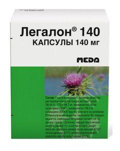 Buy Legalon 140 capsules 140 mg No. 30 | Online Pharmacy | https://buy-pharm.com