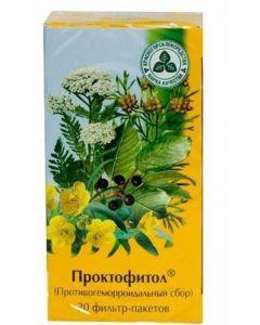 Buy Antihemorrhoidal collection, Proctofitol, 2.0n20 | Online Pharmacy | https://buy-pharm.com