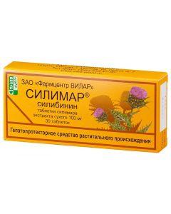 Buy Silymar 0.1 N30 tablets | Online Pharmacy | https://buy-pharm.com