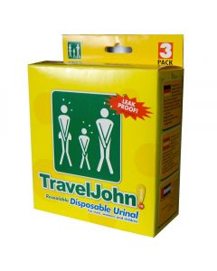 Buy Travel John personal toilet, 3 pcs. | Online Pharmacy | https://buy-pharm.com