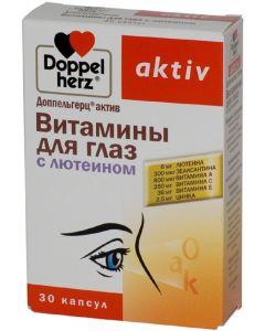 Buy Doppelherz 'Active. Vitamins for the eyes', with lutein, 30 capsules | Online Pharmacy | https://buy-pharm.com