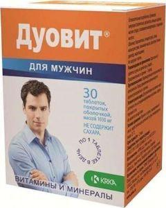 Buy Duovit, for men, 30 tablets | Online Pharmacy | https://buy-pharm.com