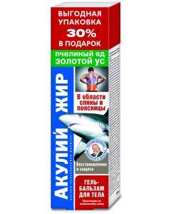 Buy Bee venom / golden mustache Shark oil Gel balm, 125ml | Online Pharmacy | https://buy-pharm.com