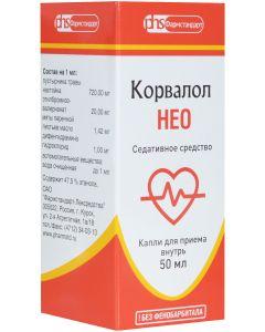 Buy Corvalol Neo drops for oral administration fl. -cap. 50ml # 1  | Online Pharmacy | https://buy-pharm.com