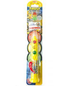 Buy Transformers Children's toothbrush with a timer-backlit (traffic light). Soft bristles. Children from 3 years old. | Online Pharmacy | https://buy-pharm.com