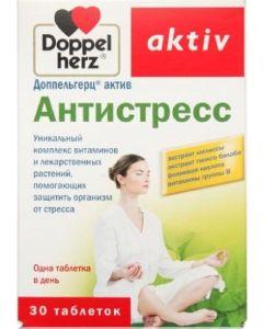Buy Doppelherz 'Active Antistress', 30 tablets | Online Pharmacy | https://buy-pharm.com