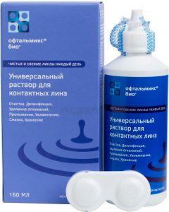 Buy Ophthalmiks BIO 160ml solution for contact lenses | Online Pharmacy | https://buy-pharm.com