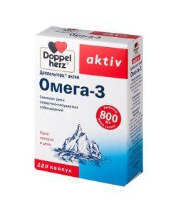 Buy Doppelherz Active Omega-3 capsules 1186Mg # 120 (Bad) | Online Pharmacy | https://buy-pharm.com