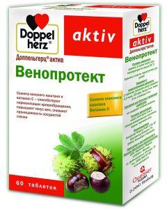 Buy Venoprotect Doppelherz 'Aktiv', 60 tablets | Online Pharmacy | https://buy-pharm.com