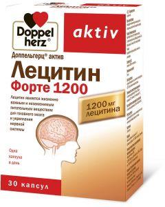 Buy Lecithin Forte Doppelherz 'Aktiv', capsules 1200 mg, # 30 | Online Pharmacy | https://buy-pharm.com