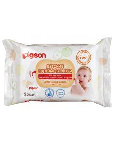 Buy Pigeon Wet wipes for children, 25 pcs  | Online Pharmacy | https://buy-pharm.com