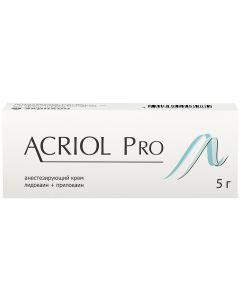 Buy Acriol Pro cream for places. and outside. approx. 2.5% + 2.5% tube 5g # 1   Online Pharmacy   https://buy-pharm.com