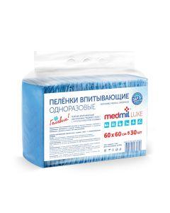 Buy Medical diaper Medmil Disposable absorbent gel diapers, 60 x 60 cm, 30 pcs   Online Pharmacy   https://buy-pharm.com