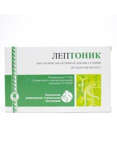 Buy Leptonik, fortifying and tonic agent, 50 tabs from Apipharm (RF) | Online Pharmacy | https://buy-pharm.com