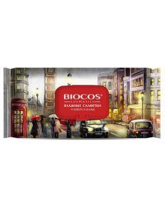 Buy Wet wipes BioCos World capitals London, Tokyo, Moscow, 60 pcs | Online Pharmacy | https://buy-pharm.com