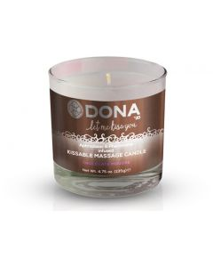 Buy DONA Chocolate Mousse massage candle with the aroma of chocolate mousse - 135 gr. | Online Pharmacy | https://buy-pharm.com