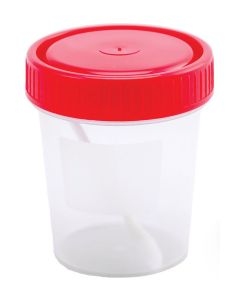 Buy Container Option with a spoon, sterile, disposable, medical, polymer, 60 ml | Online Pharmacy | https://buy-pharm.com