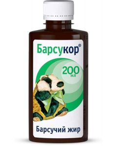 Buy Badger fat 'Barsukor', liquid, 200 ml | Online Pharmacy | https://buy-pharm.com