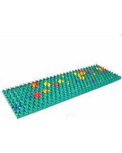 Buy Applicator Lyapko 'Mat Sputnik', multicolored, needle pitch 6.2 mm, 60 x 180 mm   Online Pharmacy   https://buy-pharm.com
