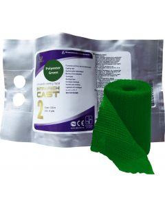 Buy Polymer bandage IR-0022, rigid cast, green, 5 cm х 3.6 m | Online Pharmacy | https://buy-pharm.com