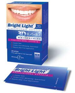 Buy Whitening strips for teeth Bright Light '3D Bright Professional Effects' | Online Pharmacy | https://buy-pharm.com