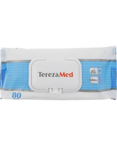 Buy Tereza Wet cleansing wipes with cr. f, (160sht-2up. * 80 pcs) | Online Pharmacy | https://buy-pharm.com