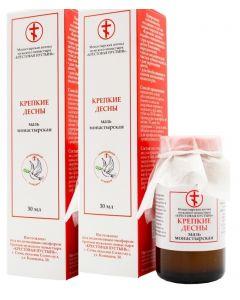 Buy Monastery ointment 'Strong gums' 30 ml.х2 pcs. | Online Pharmacy | https://buy-pharm.com