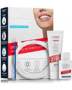 Buy Global Whitening Complex White Global White Sensitive Teeth Whitening System: 15ml Whitening Gel, 30ml Whitening Toothpaste. | Online Pharmacy | https://buy-pharm.com