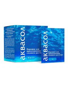 Buy Hygienic means for washing, powder for preparation of' AquaSol 'solution , 5 g # 30 | Online Pharmacy | https://buy-pharm.com