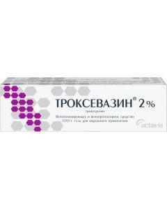 Buy Troxevasin Balkanpharma Gel for external use, 2%, 100 g | Online Pharmacy | https://buy-pharm.com