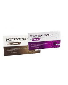 Buy A set of rapid test for HIV and Hepatitis C | Online Pharmacy | https://buy-pharm.com