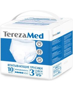 Buy Panties for adults TerezaMed Large No. 3, 10 pcs | Online Pharmacy | https://buy-pharm.com