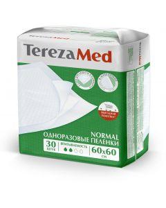 Buy Medical diaper TerezaMed disposable absorbent Normal 60 x 60 cm 30 pcs, 60 x 60 cm, 30 pcs | Online Pharmacy | https://buy-pharm.com