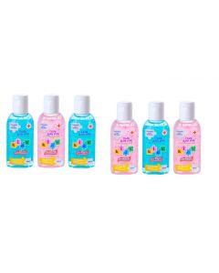 Buy Sanitelle Kids antiseptic hand gel with aloe extract and vitamin E 6 pcs in a spike   Online Pharmacy   https://buy-pharm.com