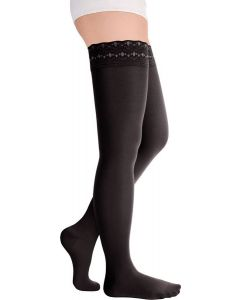 Buy Compression stockings for women Luomma Idealista 1st class, color: black. ID-301. Size S (2) | Online Pharmacy | https://buy-pharm.com